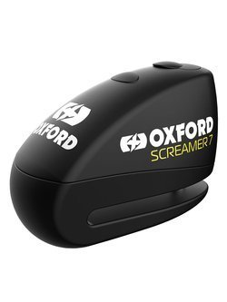 Disc Lock Oxford Screamer 7 z alarmem [pin blokujący: 7mm]